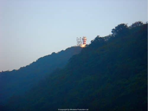 Da Jin Shan island is a beautiful nature reserve in Shanghai