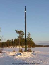 WS-0,30C energiantuottajana kesämökillä