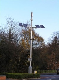 WS-030 - United Kingdom - Hybrid power system for park road light.