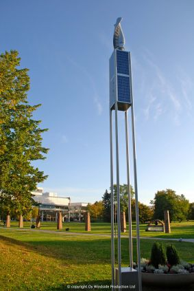 WS-0,30B Hybrid Park Light in Sweden. Installation by Annell Ljus + Form AB.