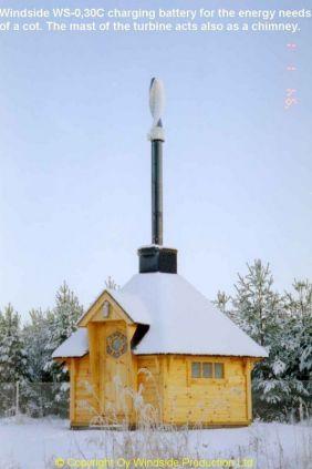 WS-030 Lapland Winter Sauna